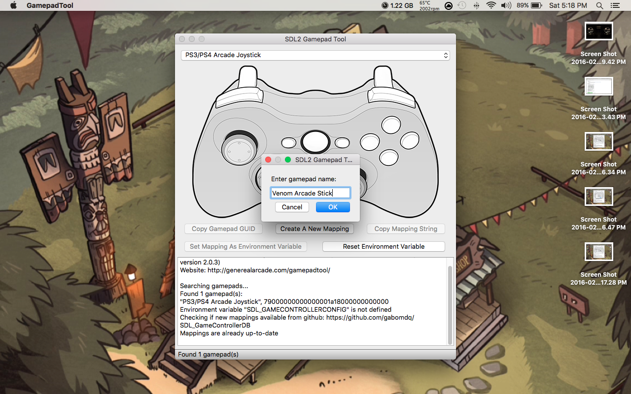 410b019e51 Getting Your Controller To Work for Skullgirls on Mac